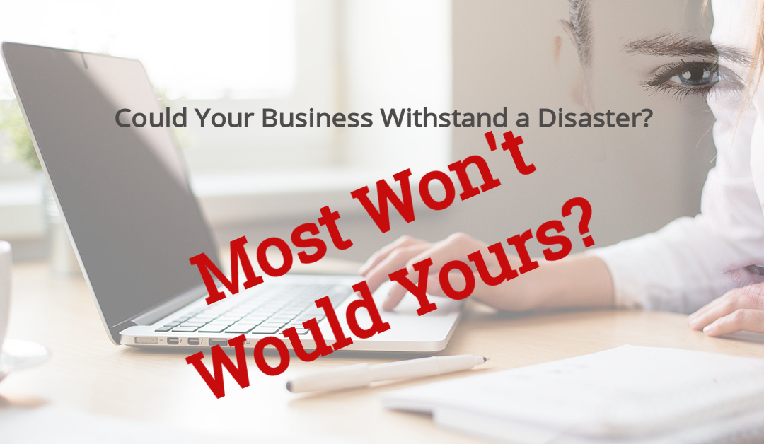 Could Your Business Survive a Disaster?