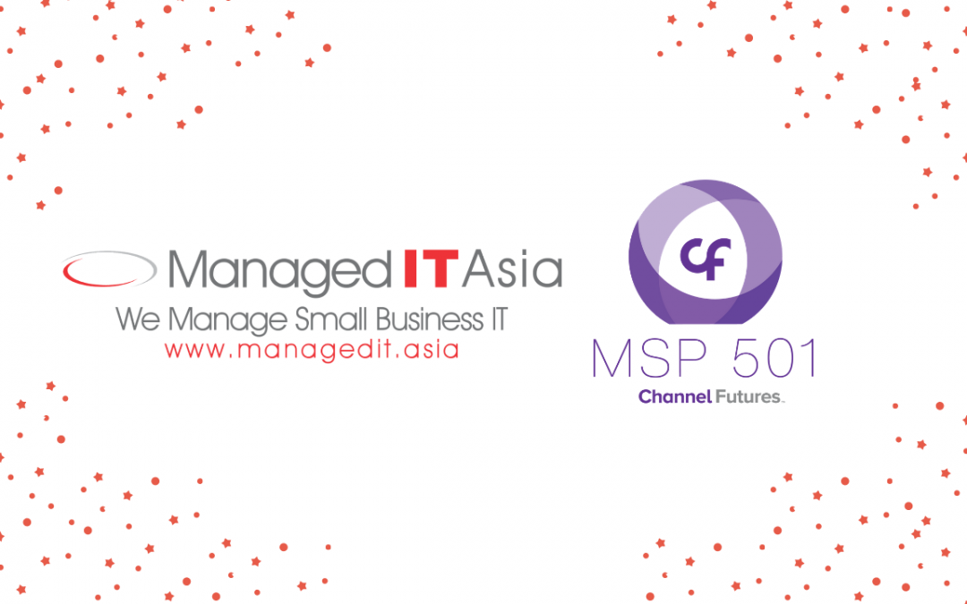Managed IT Asia named as one of the world's premier managed service providers