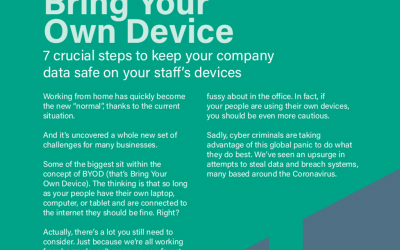 TechGuide: 7 Crucial Steps To Keep Your Company Data Safe On BYOD